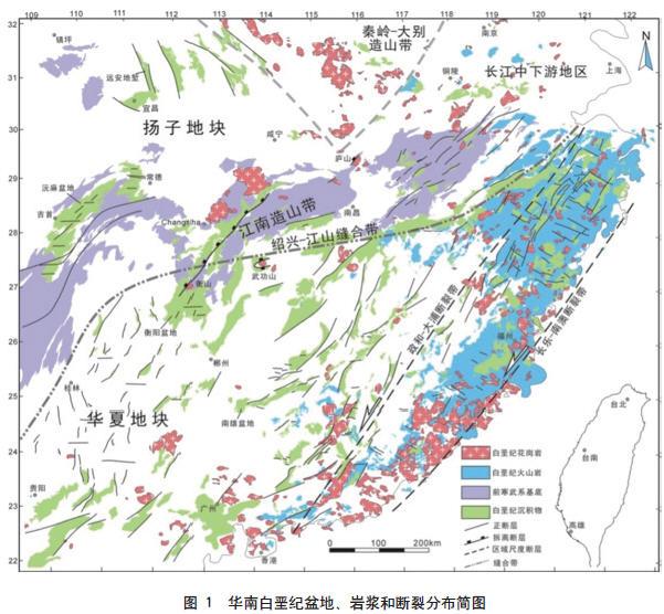 中国地质构造板块地图